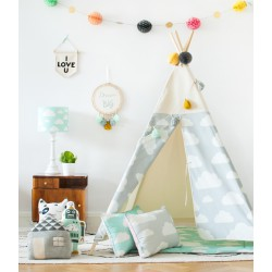 Lamps&Co Tipi Chmurki Grey